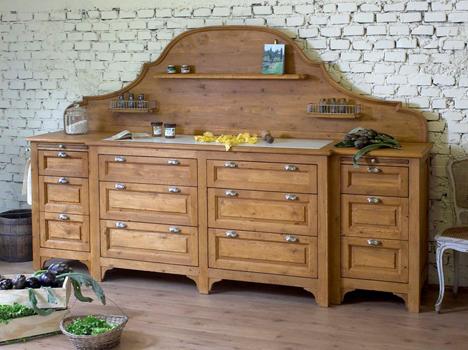 Realizzazione e recupero mobili in stile provenzale - Mobili in legno usati ...