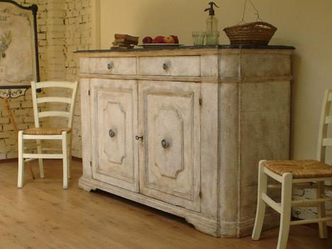 Mobili in stile provenzale: lavori eseguiti dalla falegnameria ...